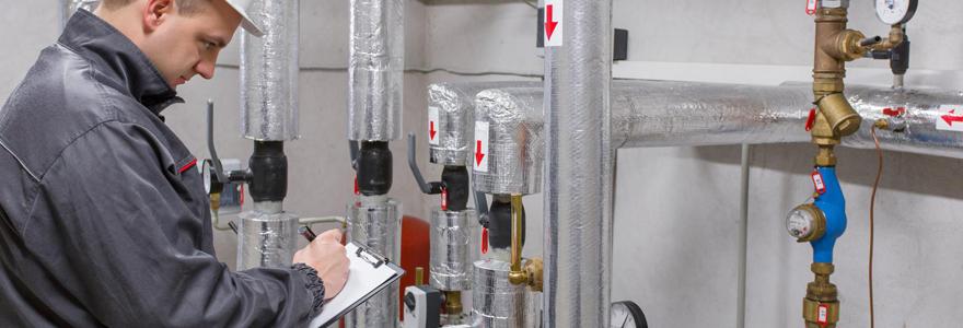 Installation de gaz fournisseur d'énergie